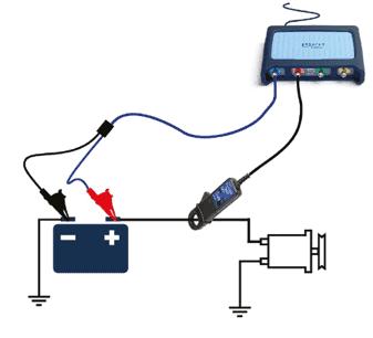蓄電池測試連接圖
