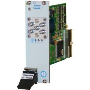 PXI單SP4T微波多路復用器40-784A-001 6GHz50歐姆SMA