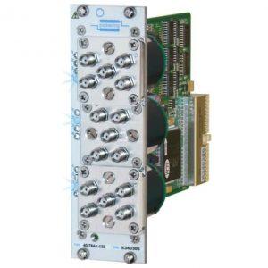 PXI三重SP4T微波多路復用器40-784A-103 6GHz50歐姆SMA