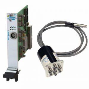 PXI遠程安裝單SP6T微波多路復用器40-785B-561-TE 3GHz50歐姆N型 端接