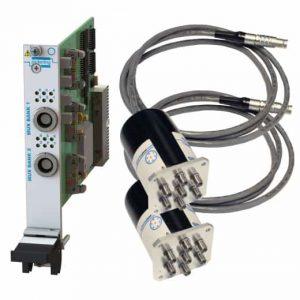 PXI遠程安裝雙SP6T微波多路復用器40-785B-562-TE 3GHz50歐姆N型 端接