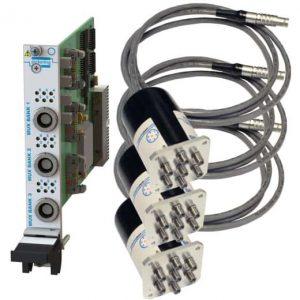 PXI遠程安裝三路SP6T微波多路復用器40-785B-563-TE 3GHz50歐姆N型 端接