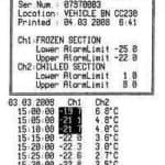 帶列印機的溫度記錄儀(G0221E)