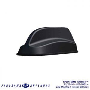 車載天線HK-GPSDC-MiMo 'Sharkee™' 2G/3G/4G + GPS/GNSS + 鞭天線安裝& MiMo Wifi選件