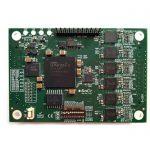 SMARToem模組 (可擴展的FPGA + 同一PCB上的多達六個組合乙太網路link)