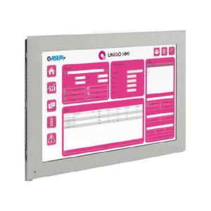 HMI45-TFM入門級操作面板,採用UNIQO的雙核 ARM CORTEX-A9 處理器