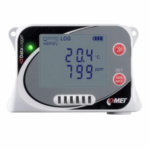內置傳感器溫濕度和CO2記錄儀(U3430)