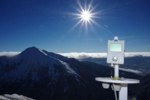 山區溫濕度測量