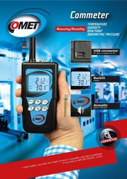便攜式測量儀器型錄