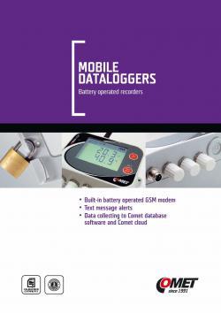 GSM數據記錄器型錄